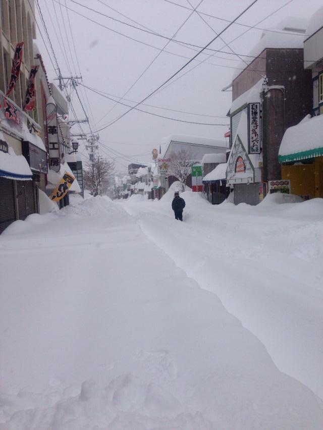 豪雪 軽井沢