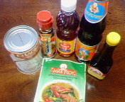 タイ食材?調味料を買ってお料理しました。