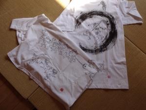 鳥獣戯画Tシャツ1