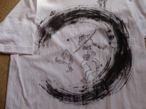 鳥獣戯画Tシャツ2