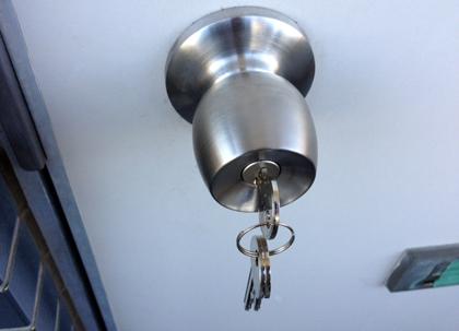 江東区深川のアパート鍵紛失の鍵交換