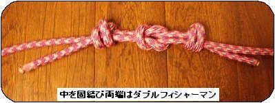 ロープの連結