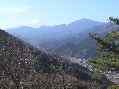 秋葉山から