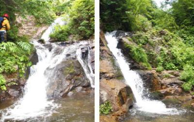 トイ状の滝