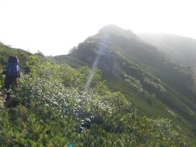 仙丈岳方面