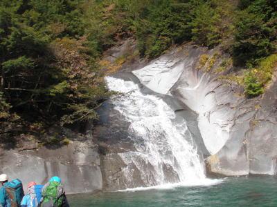 魚留めの滝