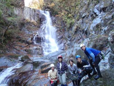 モロクボ沢大滝