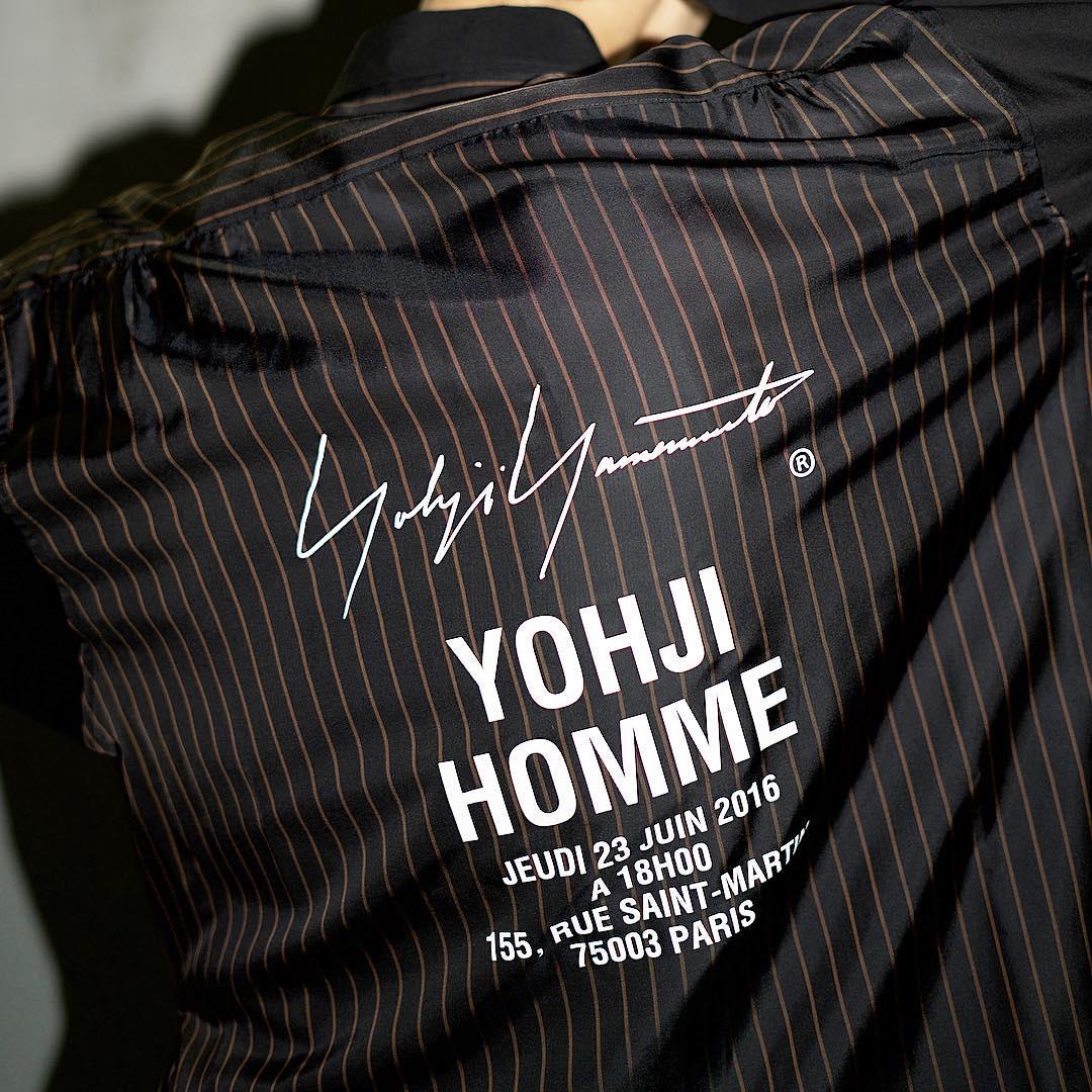 new arrival yohji yamamoto staff logo shirt v stella news