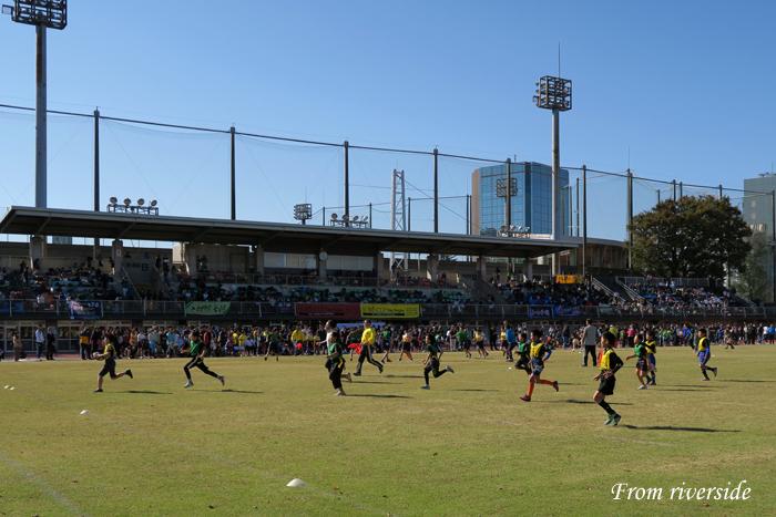 第10回府中市小学生タグラグビー大会フォーリスカップ