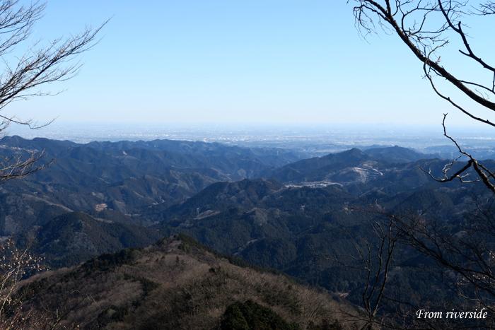 伊豆ヶ岳山頂から