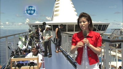 NHK太平洋上からの中継2