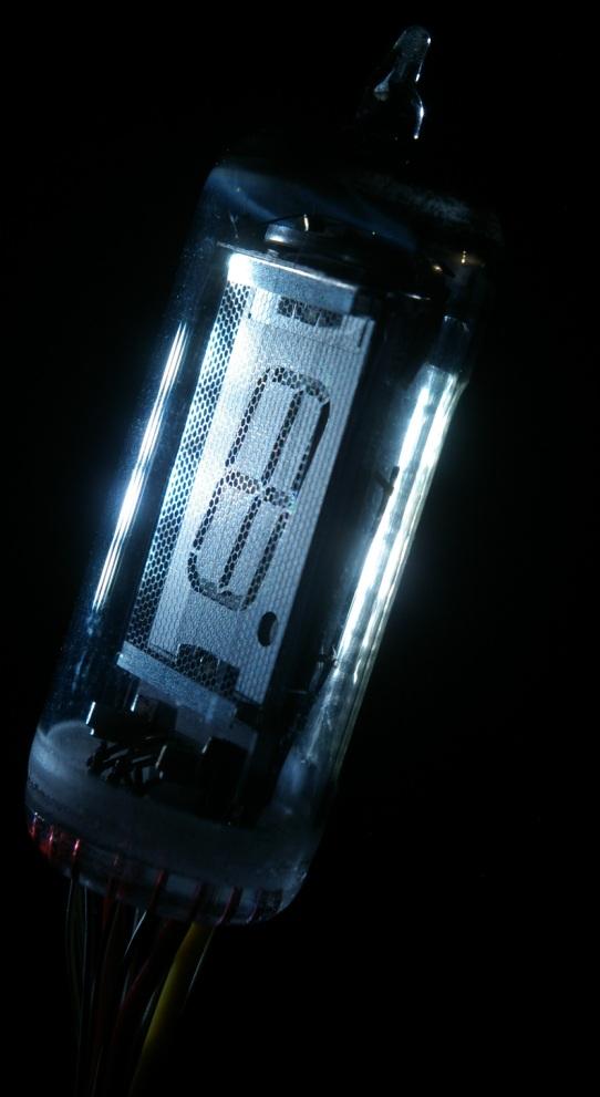 蛍光表示管