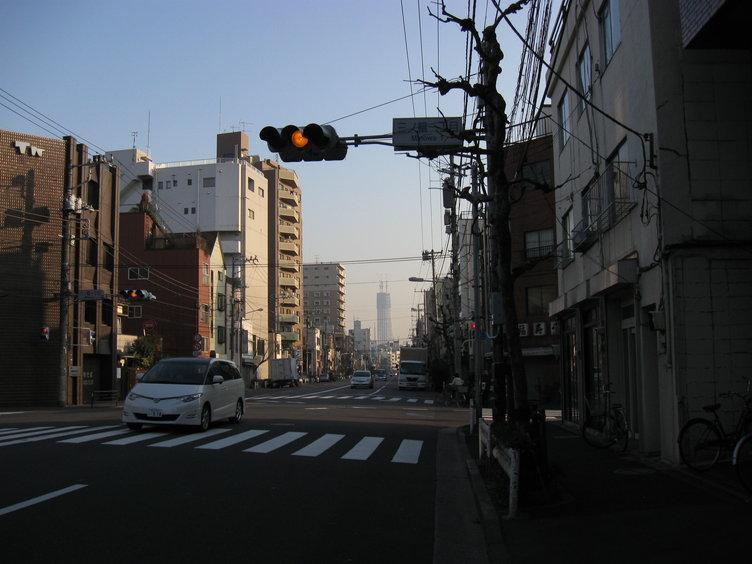 Tokyo Sky Tree from Minowa
