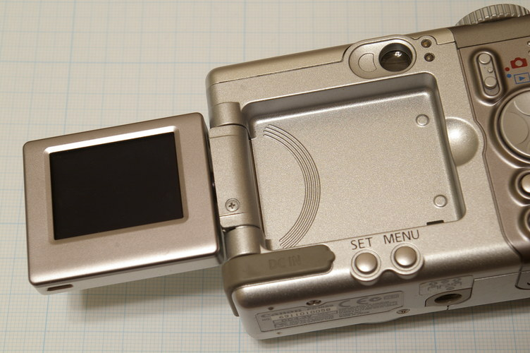 Canon Powreshot A80 バリアングル