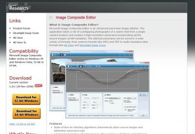 Image Composite Editor
