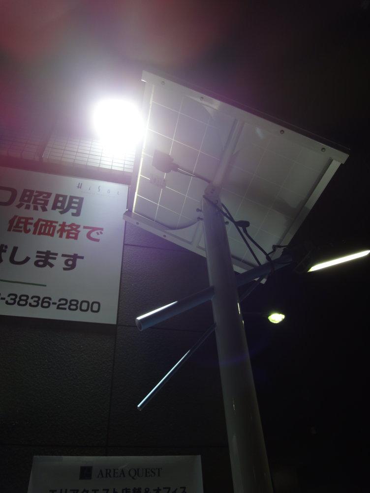 LED太陽発電2
