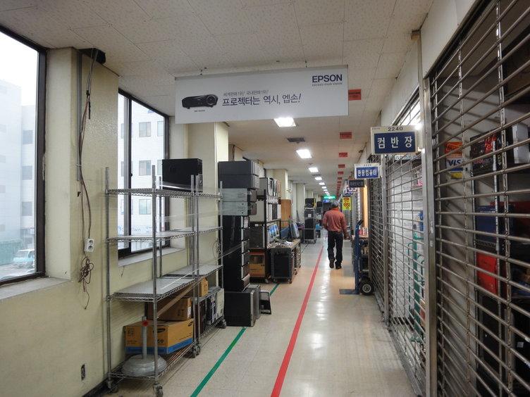 韓国の電気街