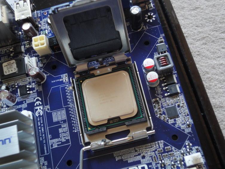 CPU乗っけて
