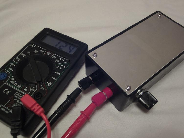 可変電圧電源最低1.24