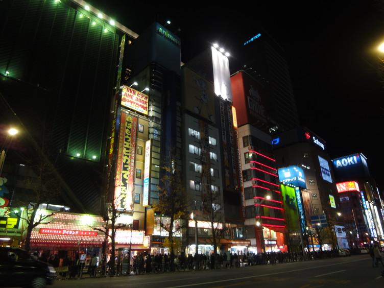2011年正月秋葉原