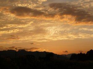 能登の夕焼け