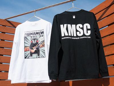 くまモンのロングTシャツ1