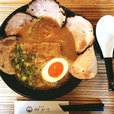 麺空間 灯かり 熊本 ラーメン