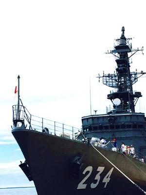 護衛艦 とね 熊本