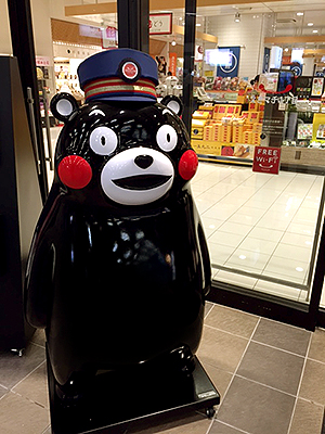 くまモン 熊本駅 えきマチ1丁目 JR