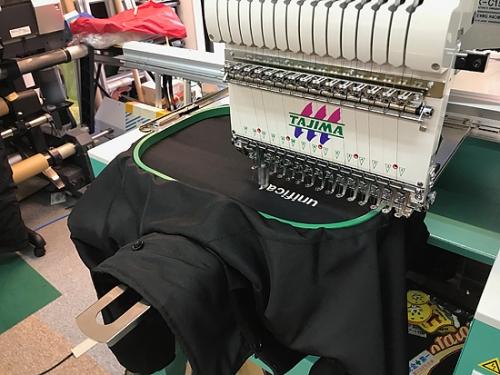 刺繍ジャンパー