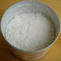 カマルグの塩粒