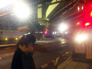 箱根駅伝で有名な踏切です