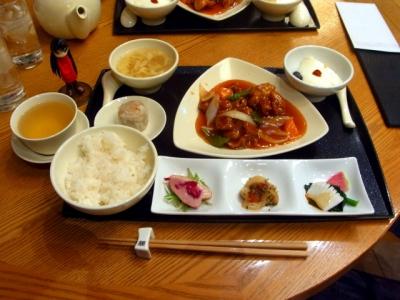 羽田空港第2ターミナル 南国酒家(中華) 定番セット