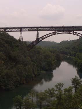 ベルガモの近くの橋