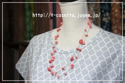 天然石 さざれ 手作り ネックレス ハンドメイド