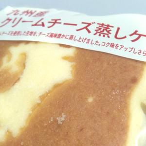クリームチーズ蒸しケーキ