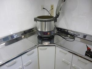 炊飯器設置