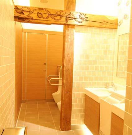 男子トイレ内部