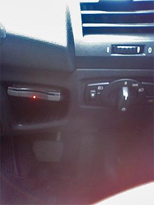 BMW1シリーズ、貴重なETC取り付け