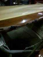 サーフボードの補修