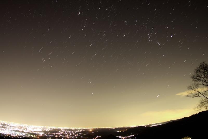登る冬の星座