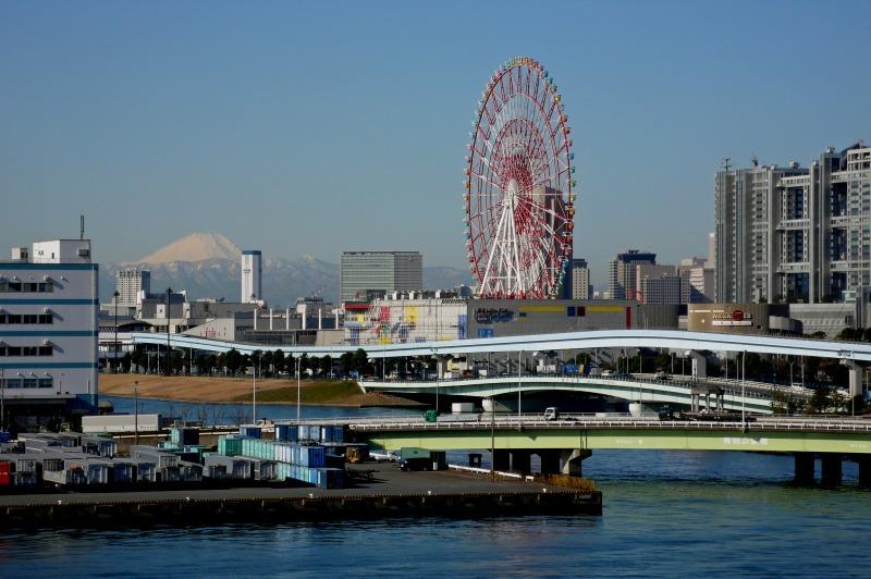 お台場と富士山