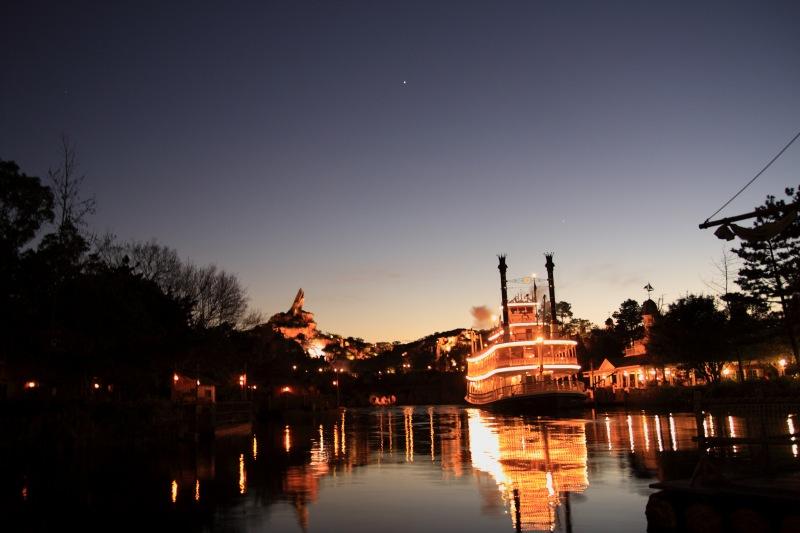 マークトウェン号と金星・木星
