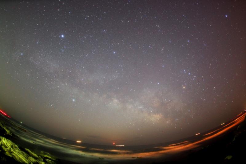 昇る夏の星座たち