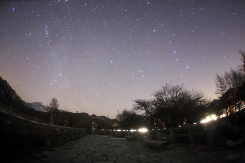 戦場ヶ原と北天の星々
