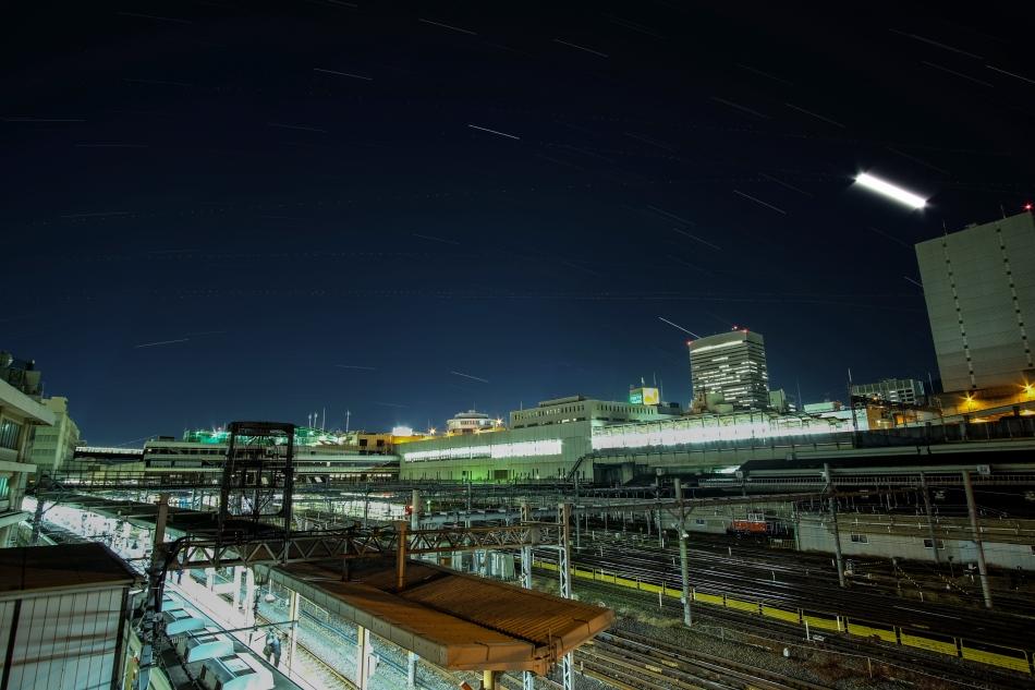 大宮駅の星空
