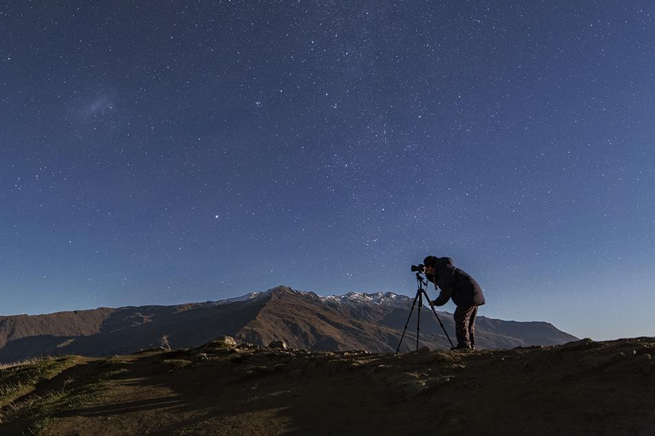 星空を撮る