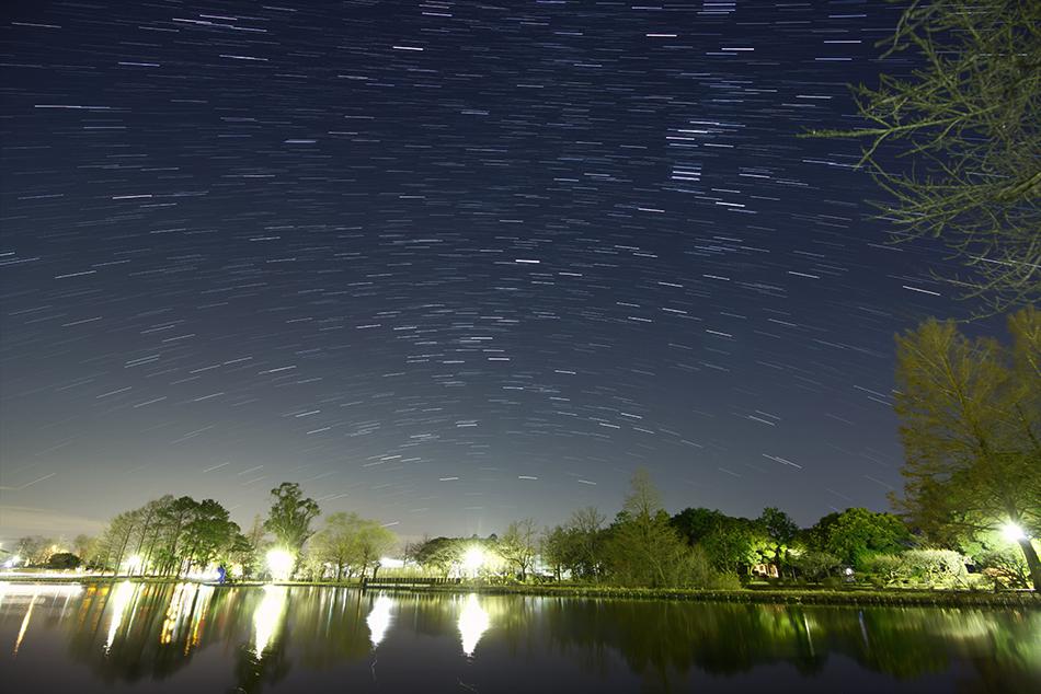 陸王ロケ地水城公園と冬の星座