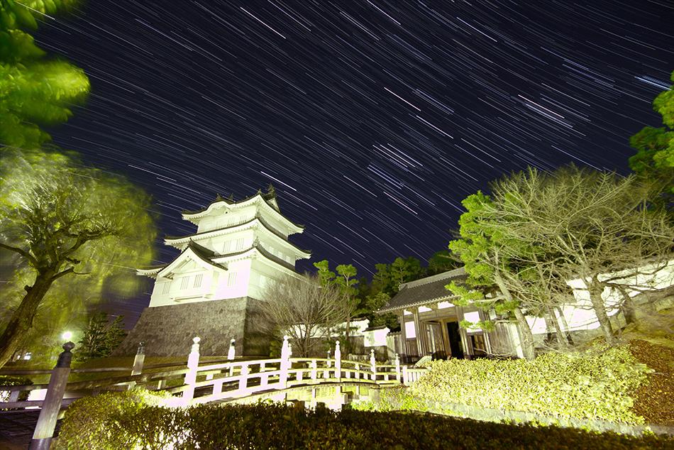 陸王ロケ地忍城と冬の星座