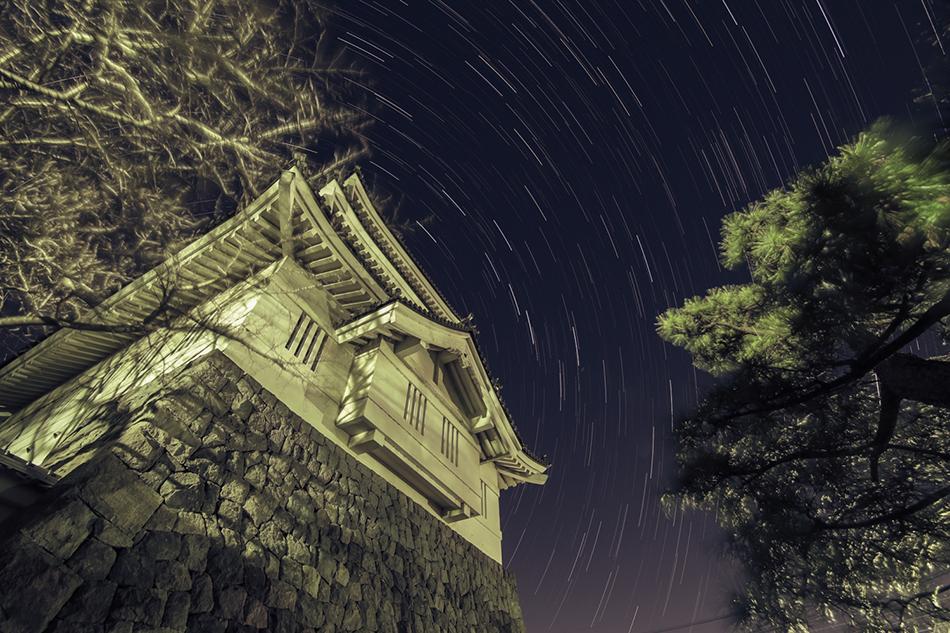 忍城と北斗七星